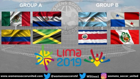 Pan American Games 2019 Women's Football Tournament Groups and Fixtures