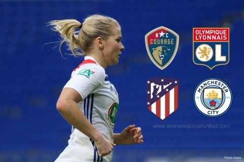 2019 Women's International Champions Cup Fixtures