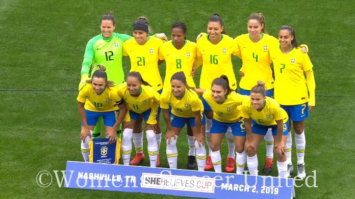 c9fe939ef44 Brazil coach Vadão names Squad to compete at the 2019 FIFA Women's World Cup  in France - Womens Soccer United