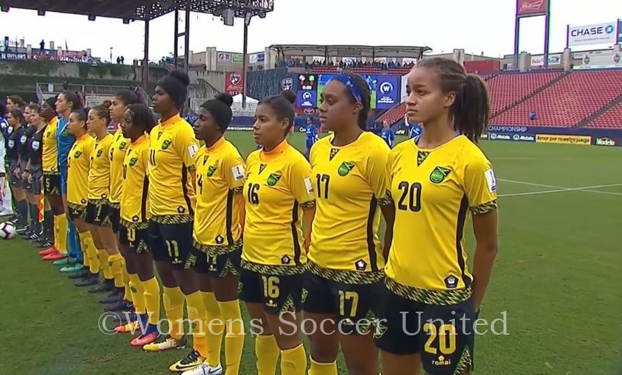 huge selection of dbf8d a1057 Jamaica name Squad for the FIFA Women's World Cup 2019 ...