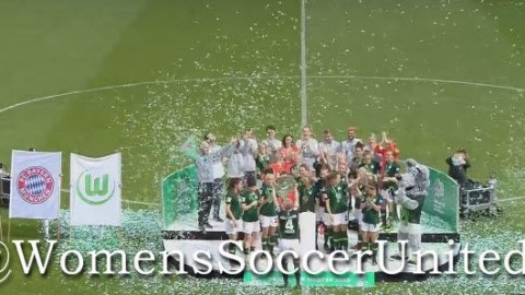 Congratulations to VfL Wolfsburg on winning the Frauen Bundesliga 12th May 2019