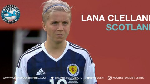 "Lana Clelland: ""What better stage to play our home rivals than in a World Cup"""