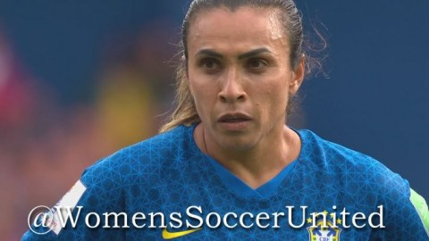 Marta scores only goal in Brazil win