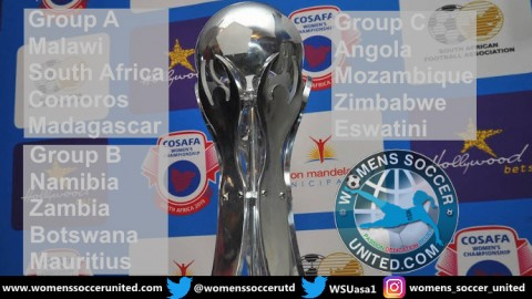 COSAFA Women's Cup 2019 Starts on Wednesday 31st August