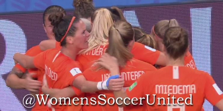 Netherlands reach World Cup semi final - Womens Soccer United