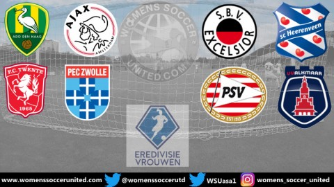 FC Twente lead the Netherlands Women's Eredivisie 25th August 2019