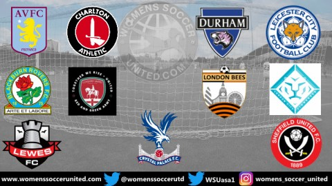 Durham WFC lead the FA Women's Championship 18th August 2019