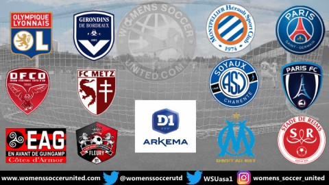 French Féminine D1 Arkema 2019/20 Season Starts Saturday 24th August