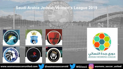 Saudi Arabia Jeddah Women's League 2019 Starts on Friday 4th October