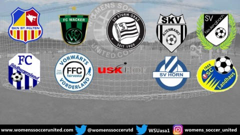 SKN St Pölten Frauen lead Planet Pure Frauen Bundesliga 8th September 2019