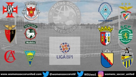 Week 1 Results Portugal Feminino Liga BPI 16th September 2019