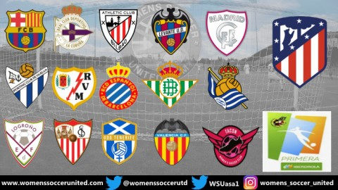 Atletico Madrid Femenino lead Spanish Primera Iberdrola 15th September 2019