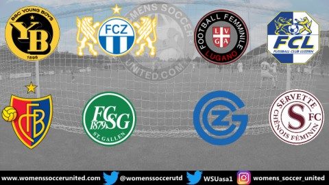 Servette FC Chênois Féminin lead Switzerland Nationalliga A 9th February 2020