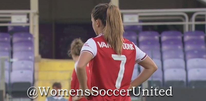 Late Van de Donk strike gives Arsenal victory - Womens Soccer United