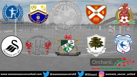 Swansea City Lead Orchard Welsh Premier Women's League 10th November 2019