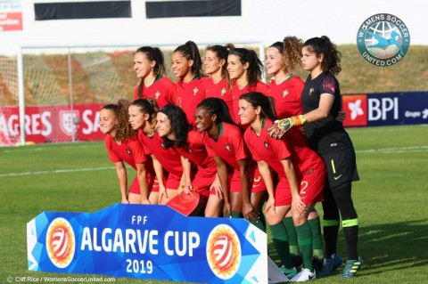Algarve Cup 2020 teams
