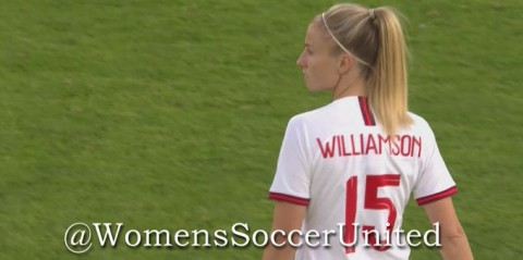 Leah Williamson England's hero with late winner