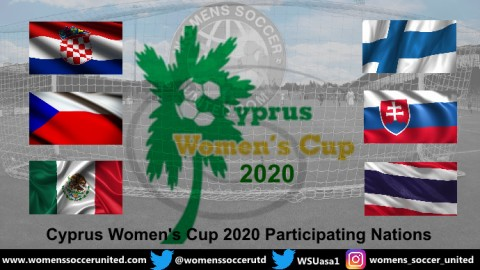 Cyprus Women's Cup 2020 name the Participating Nations