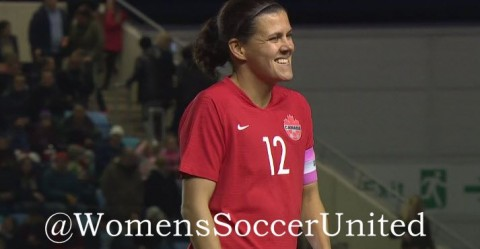 Christine Sinclair set the world's all-time international Goalscoring record with 185