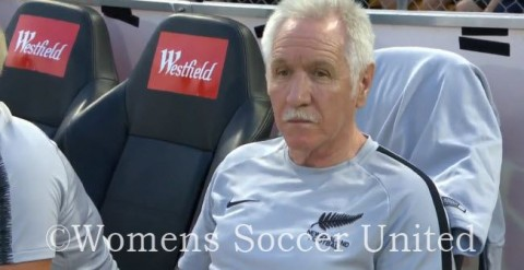 Football Ferns coach Tom Sermanni names squad for Algarve Cup 2020