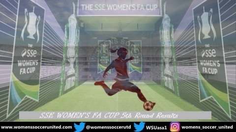 FA Women's Cup 5th Round Match Results 18th February 2020