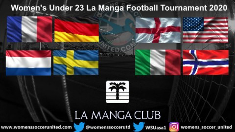 Women's U19 La Manga Football Tournament 2020 Fixtures and Results