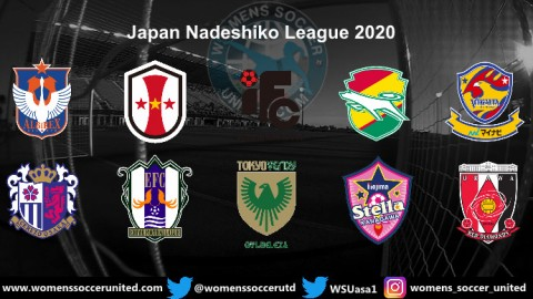 Japan Nadeshiko League Opening day Match Fixtures 2020 Season