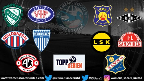 10 Teams take part in the 2020 Toppserien League Season