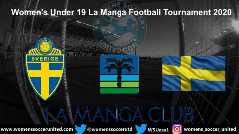 Sweden name Squad for U19 La Manga Football Tournament 2020