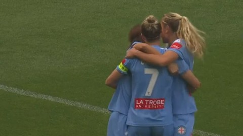 Melbourne City win the Westfield W-League 2020 Grand Final