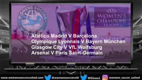 UEFA Women's Champions League 2020 Quarter Final Line-up's