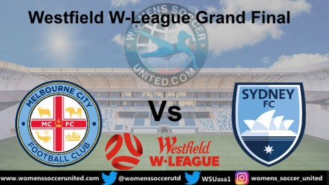 Melbourne City play Sydney FC in the Westfield W-League Grand Final