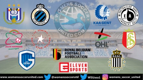 The New look in the Belgian Women's Super League now has Ten Teams