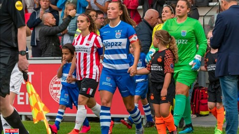 Dominique Bruinenberg doesn't fear for Women's football at this time