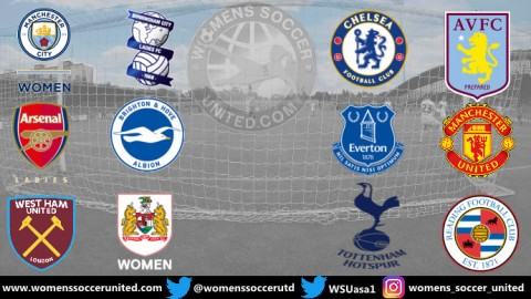 Arsenal lead FA Women's Super League 13th September 2020
