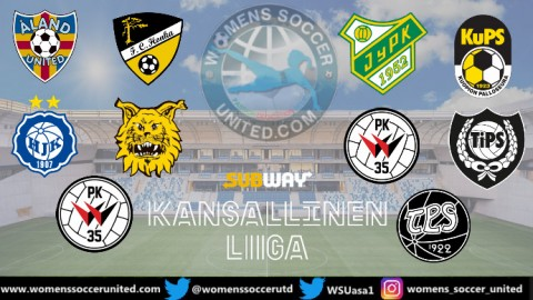 KuPS Naisten lead the Subway Kansallinen Liiga 13th June 2020