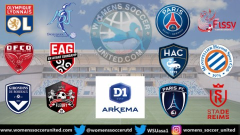 Opening Game Results 2020 French Féminine D1 Arkema 6th September