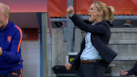 Who is England women's football manager? Meet Sarina Wiegman