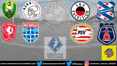 AFC Ajax lead Netherlands Eredivisie Women's Championship Round 13th September