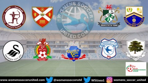 Opening Games in the Orchard Welsh Premier Women's 2020 League 27th September