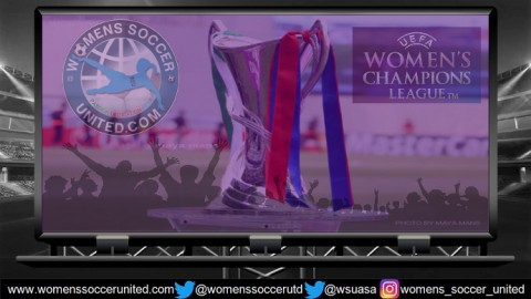 UEFA Women's 2021 Champions League Round of 32 1st and 2nd Leg