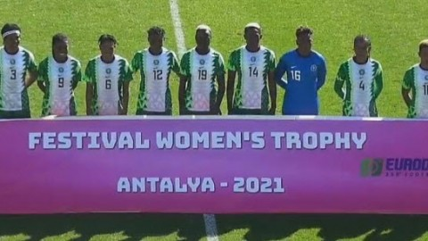 The inaugural Festival Women's Trophy 2021
