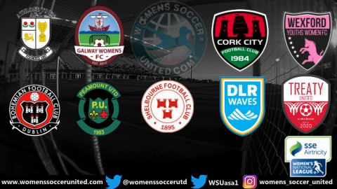 Peamount United Lead SSE Airtricity Women's National League 2nd May 2021