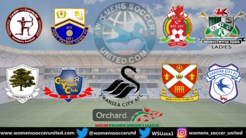 Swansea City Lead the Orchard Welsh Premier Women's League 4th April 2021