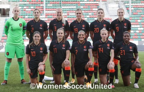 Sarina Wiegman names Netherlands Squad to play Spain and Australia