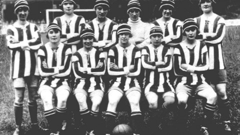 A Brief History of Women's Football