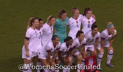 US Women's National Team roster announced for the games against Sweden and France