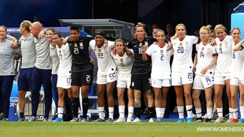 USA increase point lead at top of table in latest FIFA/Coca-Cola Women's World Ranking – April 2021