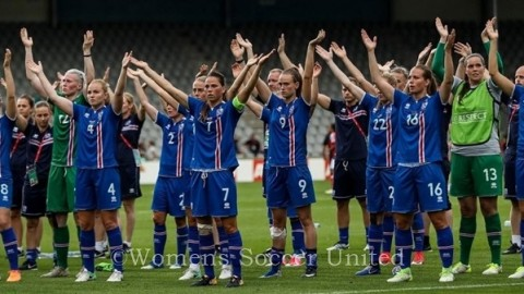 Iceland Women's Team Squad to play Italy Twice in April