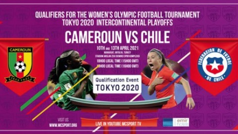 Live stream: Cameroon v Chile | Tokyo 2020 Olympic women's football qualifier